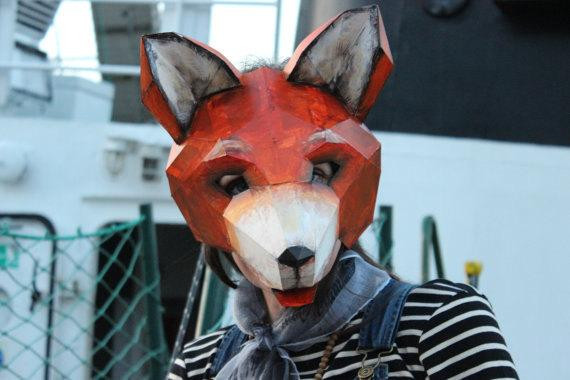 Best ideas about DIY Fox Mask . Save or Pin DIY Halloween mask Fox mask fox costume animal mask PDF Now.