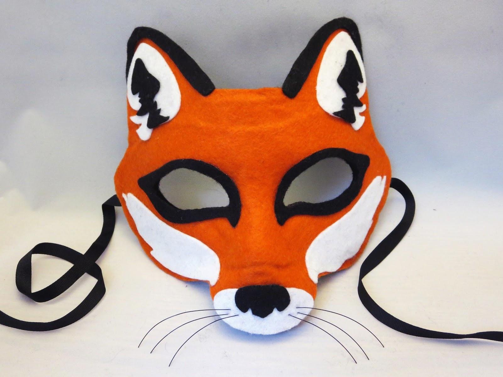Best ideas about DIY Fox Mask . Save or Pin Happenstance Wedding Felt Animal Masks Now.
