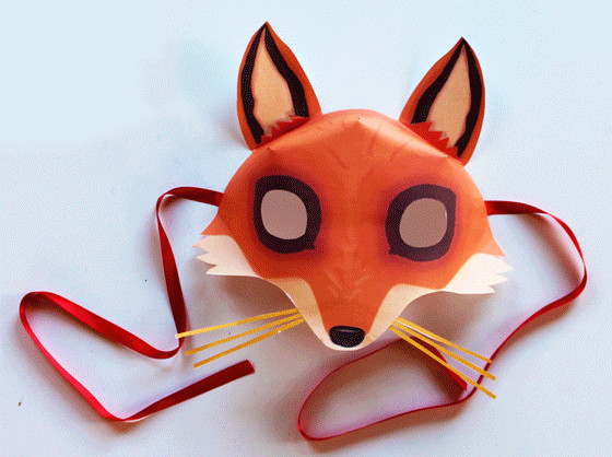 Best ideas about DIY Fox Mask . Save or Pin Fox Mask DIY Fun Crafts Kids Now.