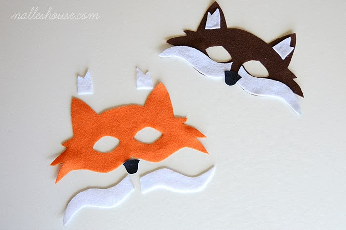 Best ideas about DIY Fox Mask . Save or Pin Nalle s House DIY FOX COSTUME Now.
