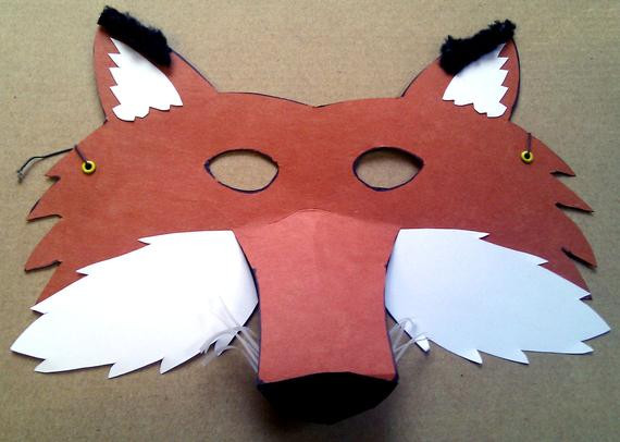 Best ideas about DIY Fox Mask . Save or Pin DIY Fox mask Craft kit Now.