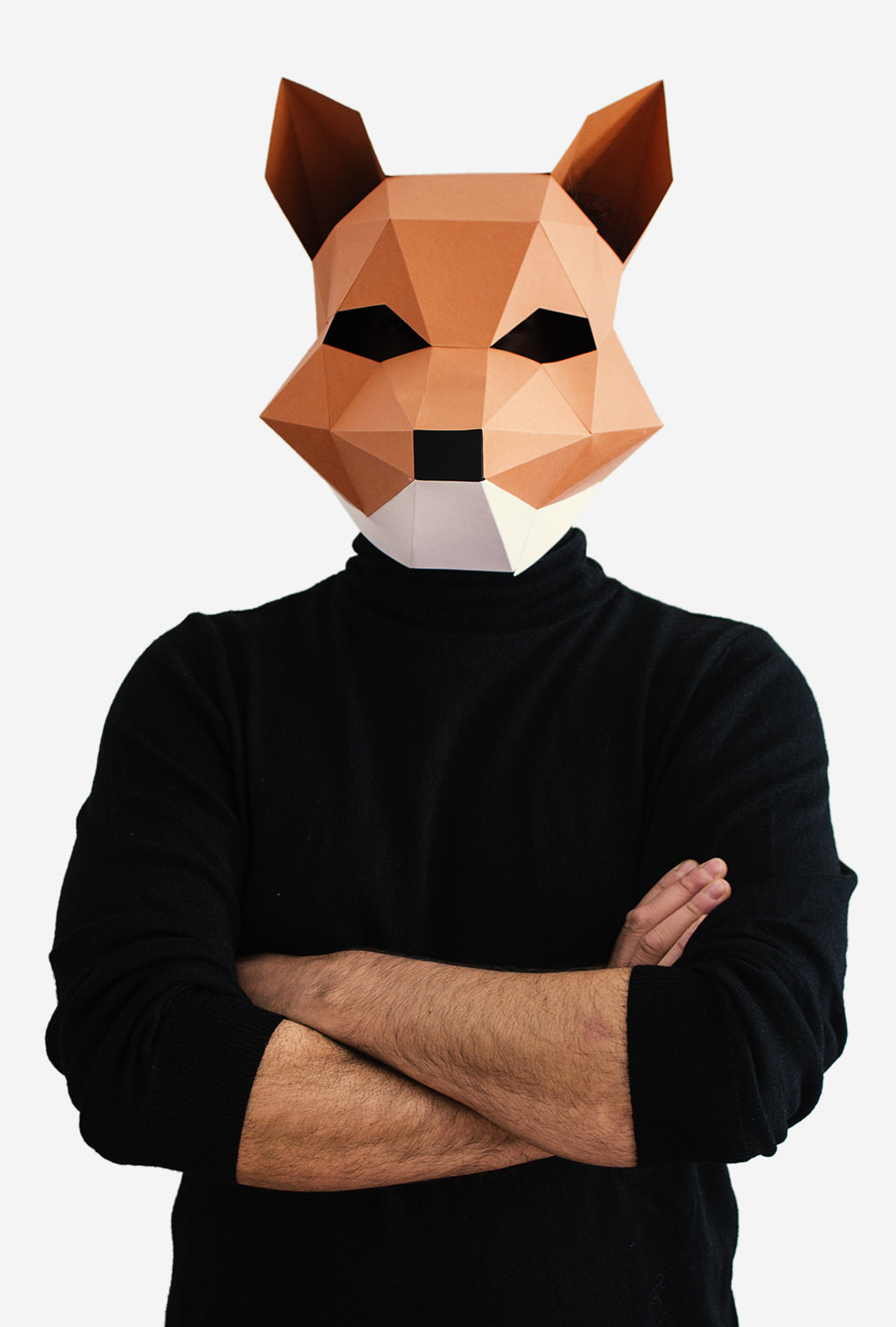 Best ideas about DIY Fox Mask . Save or Pin Fox Mask DIY printable Animal Head Fantastic by Now.