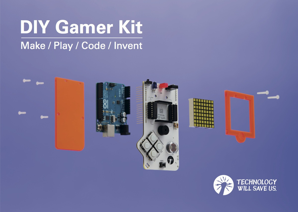 Best ideas about DIY Gamer Kit . Save or Pin Build Your Own Portable Video Game Machine with the DIY Now.