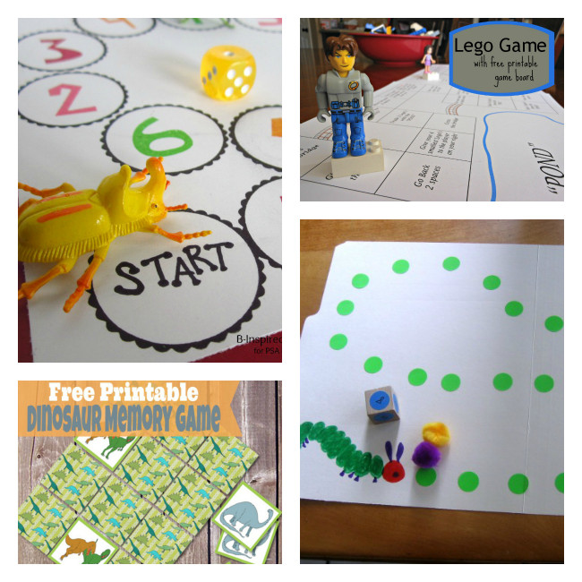 Best ideas about DIY Games For Kids . Save or Pin 12 DIY Board Games for Kids Boogie Wipes Now.