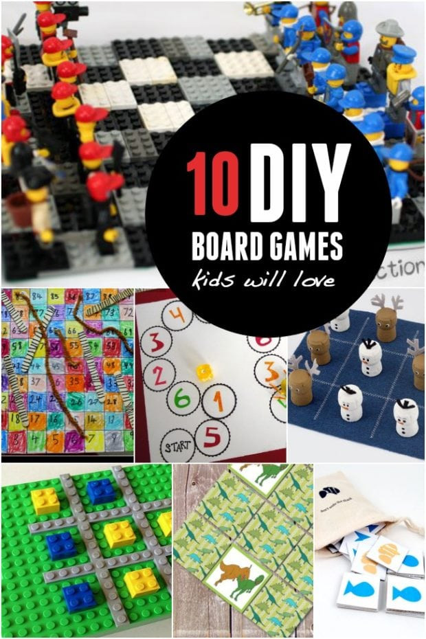Best ideas about DIY Games For Kids . Save or Pin 10 DIY Board Games Kids will Love Now.