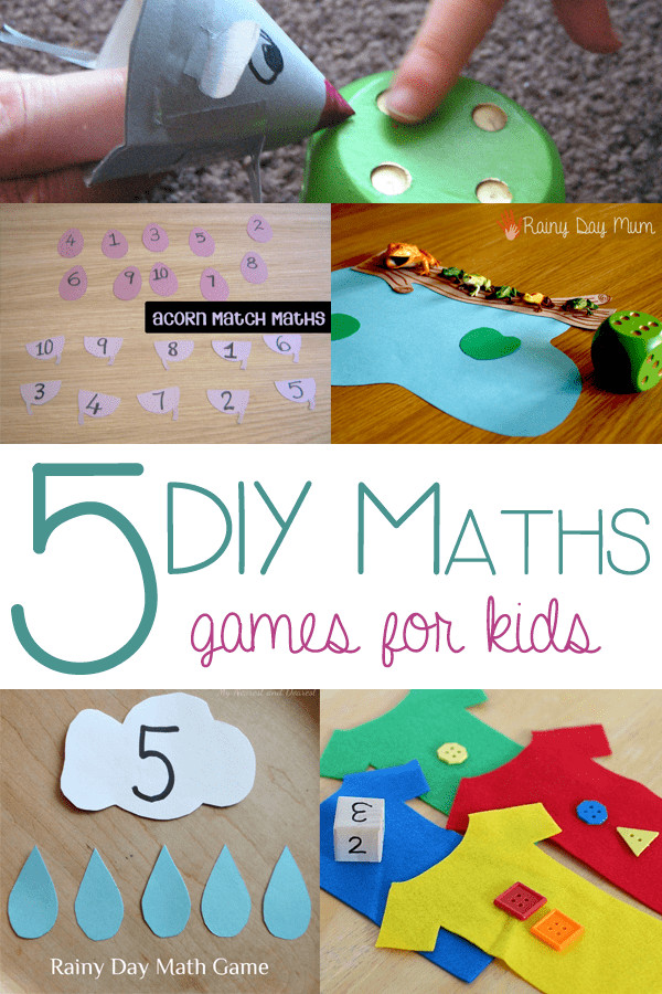 Best ideas about DIY Games For Kids . Save or Pin 5 DIY Math Games for Kids Now.