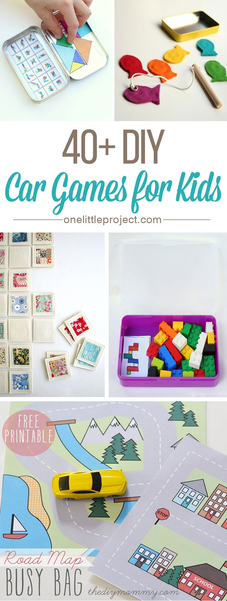 Best ideas about DIY Games For Kids . Save or Pin 40 DIY Car Games for Kids Now.