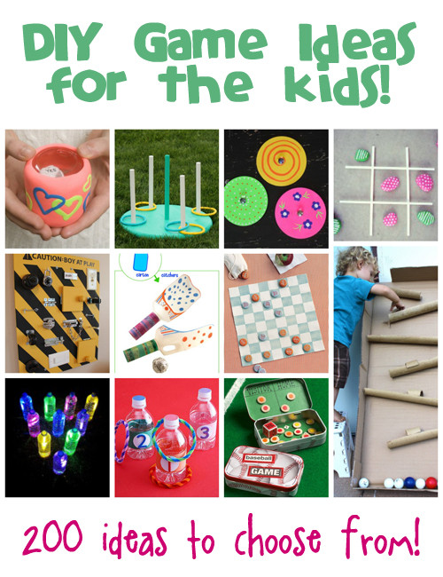 Best ideas about DIY Games For Kids . Save or Pin DIY Games Ideas for Kids Now.
