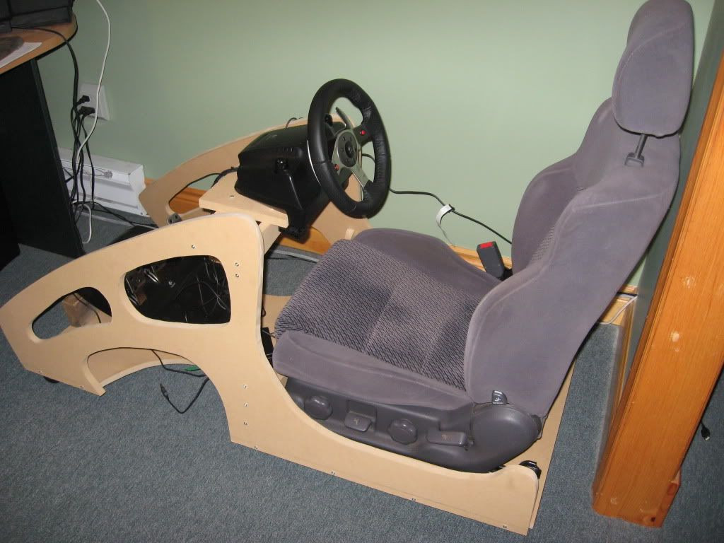 Best ideas about DIY Gaming Chair Plans . Save or Pin Scott s DIY Cockpit Now.