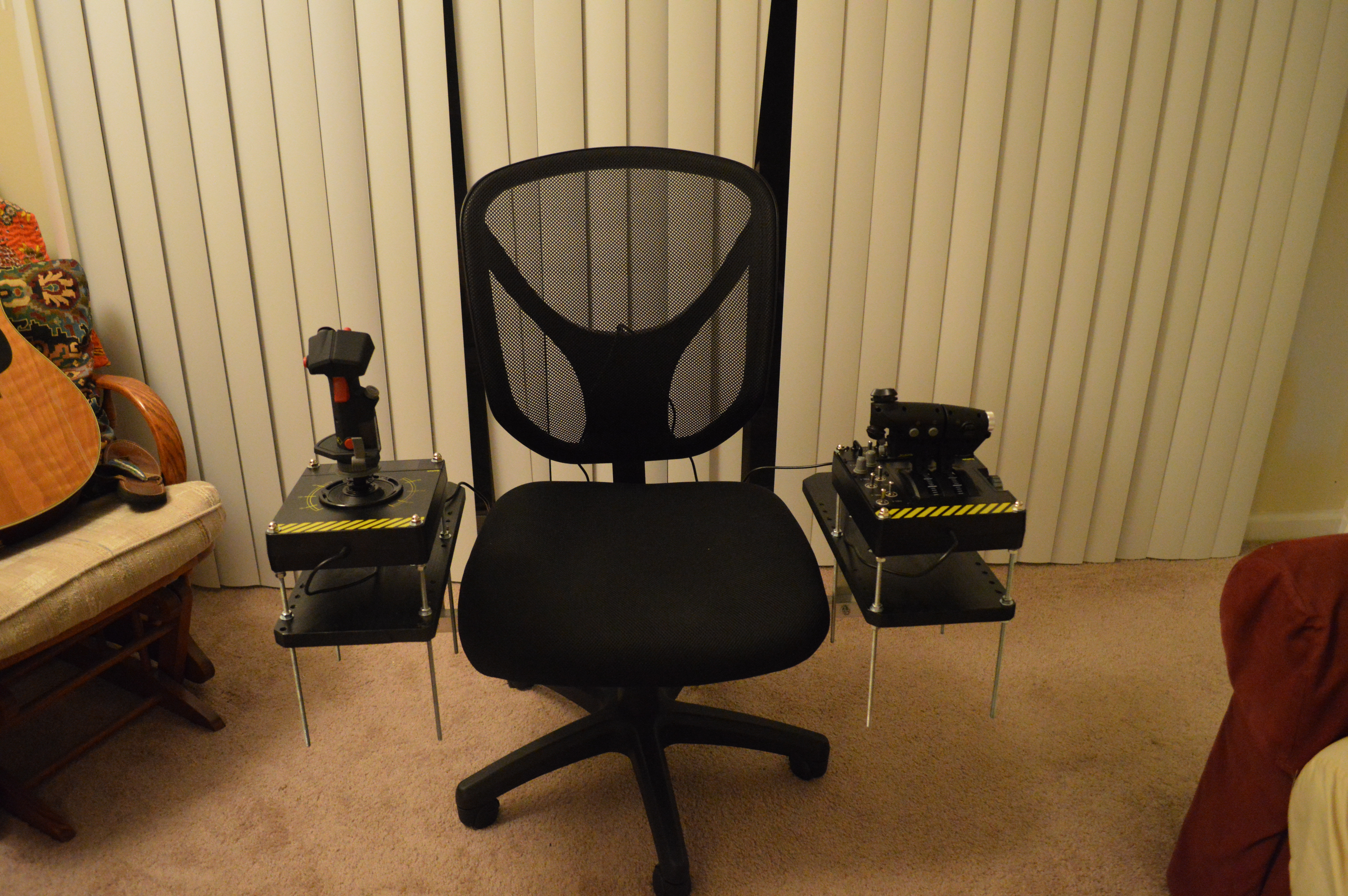Best ideas about DIY Gaming Chair Plans . Save or Pin DIY HOTAS Chair – Grimmash on Gaming Now.