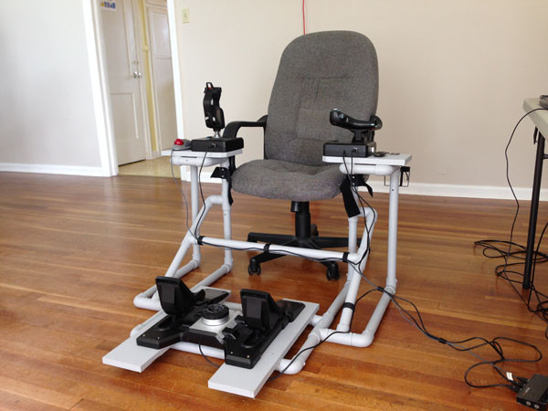 Best ideas about DIY Gaming Chair Plans . Save or Pin 5 Modifications for a DIY HOTAS Chair for Virtual Reality Now.