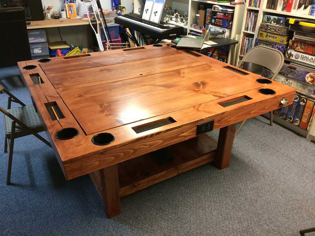 Best ideas about DIY Gaming Table Plans . Save or Pin DIY Tabletop Gaming Table World Building Technabob Now.