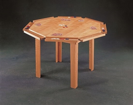 Best ideas about DIY Gaming Table Plans . Save or Pin 27 Free DIY Plans to Make High End Gaming Tables Now.