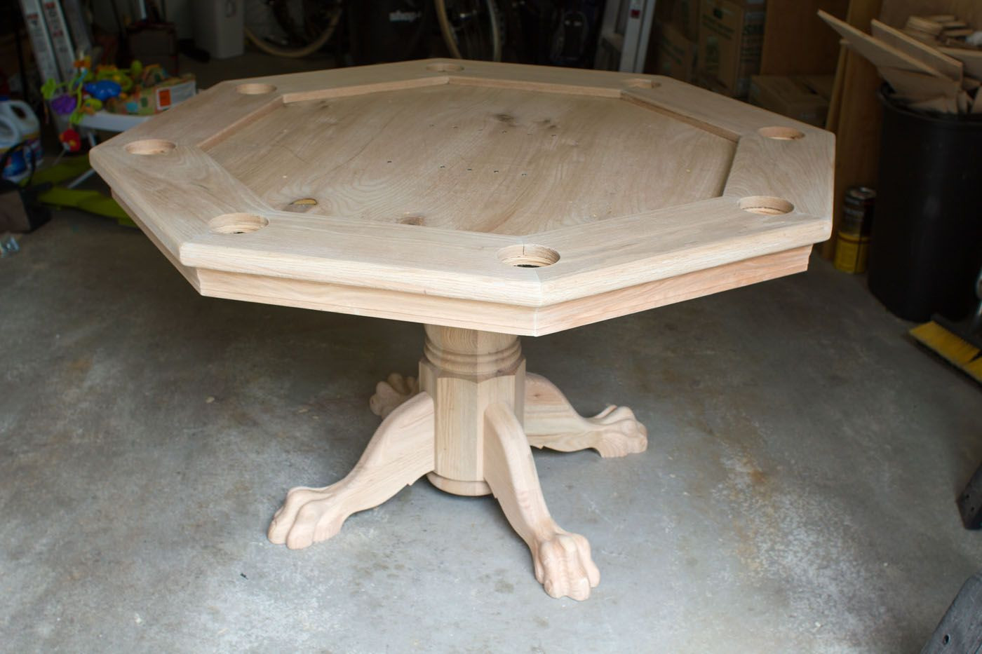 Best ideas about DIY Gaming Table Plans . Save or Pin Diy octagon table plans inkra Now.