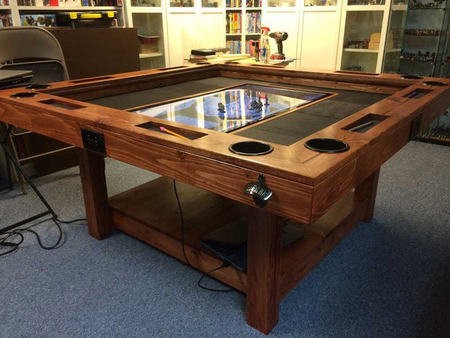 Best ideas about DIY Gaming Table Plans . Save or Pin DIY Tabletop Gaming Table World Building Now.