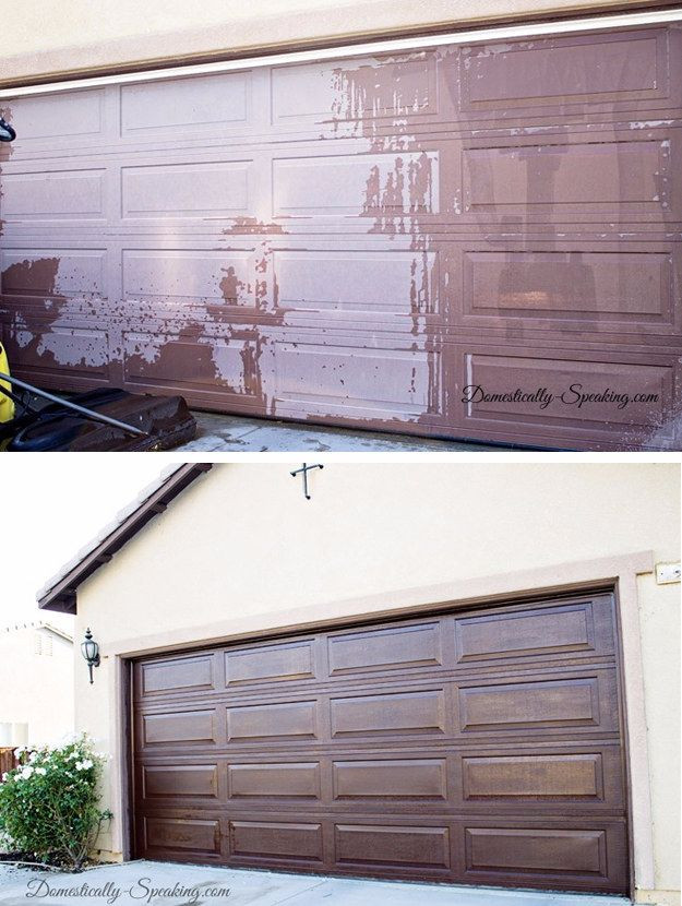 Best ideas about DIY Garage Door . Save or Pin 40 Home Improvement Ideas for Those A Serious Bud Now.
