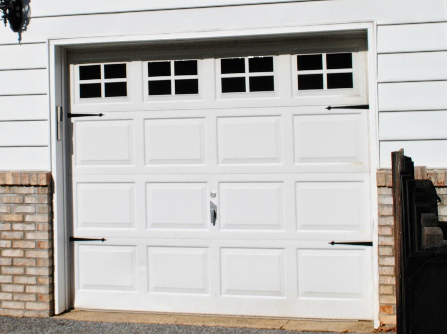 Best ideas about DIY Garage Door . Save or Pin DIY Vinyl Faux Carriage Garage Doors Free Studio File Now.