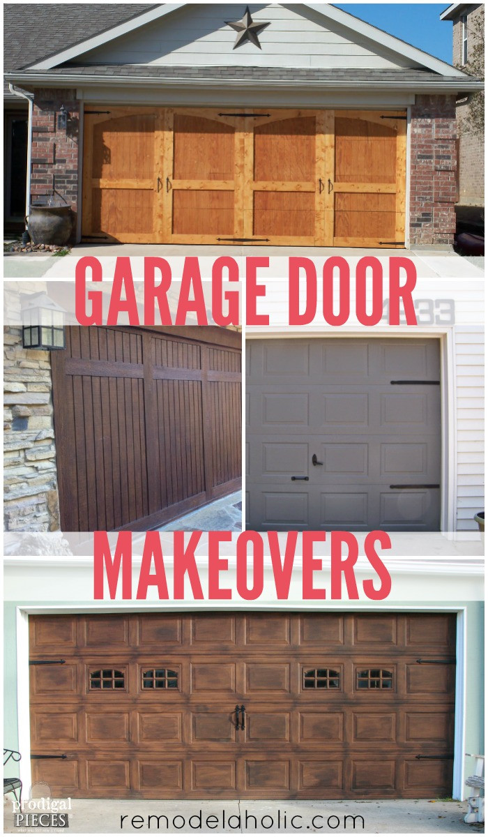 Best ideas about DIY Garage Door . Save or Pin Remodelaholic Now.