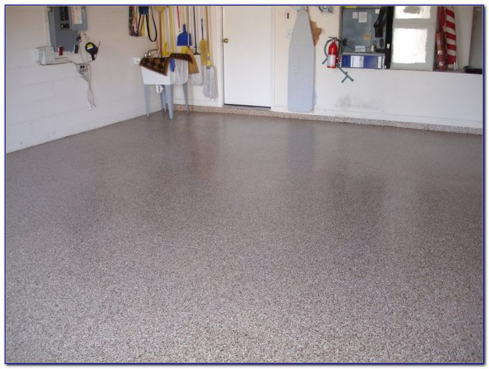 Best ideas about DIY Garage Floor Epoxy . Save or Pin Speckled Paint For Garage Floors Flooring Home Design Now.