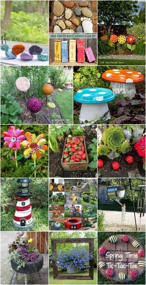 Best ideas about DIY Garden Decor . Save or Pin 30 Adorable Garden Decorations To Add Whimsical Style To Now.