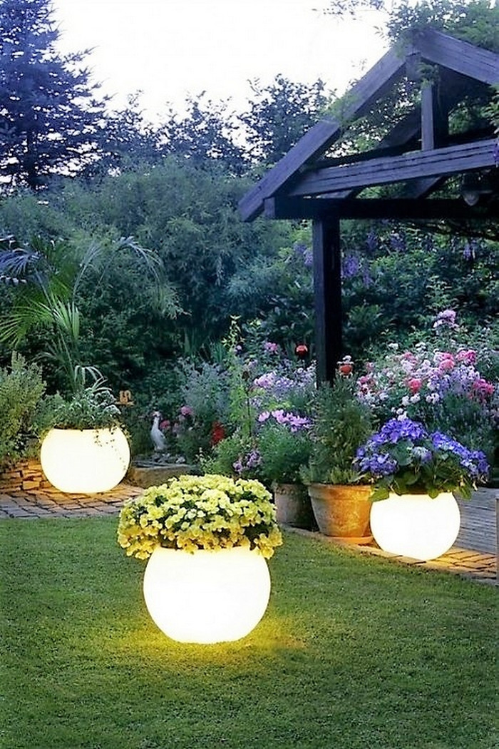 Best ideas about DIY Garden Decor . Save or Pin DIY Garden Decorating Project Ideas Now.