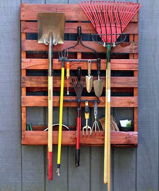 Best ideas about DIY Garden Tool Organizer . Save or Pin 8 DIY Pallet Tool Organizer Projects For The Garden Now.