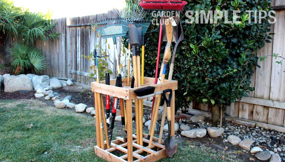 Best ideas about DIY Garden Tool Organizer . Save or Pin Get Organized DIY Garden Tool Storage Now.