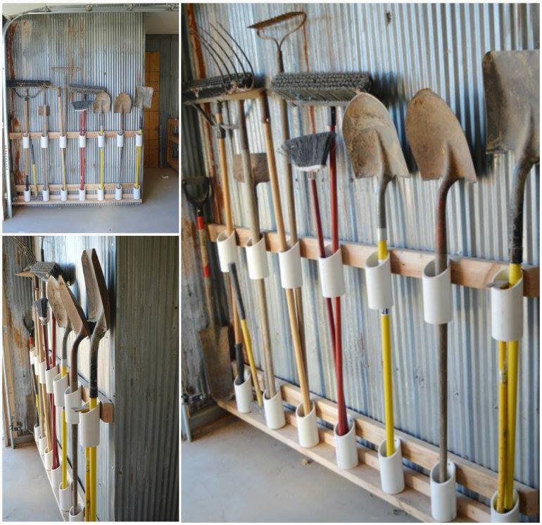 Best ideas about DIY Garden Tool Organizer . Save or Pin 10 DIY home storage ideas Now.