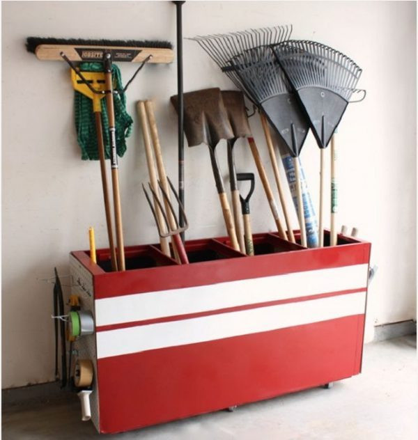 Best ideas about DIY Garden Tool Organizer . Save or Pin DIY Garden Tool Storage Solutions Little Piece Me Now.