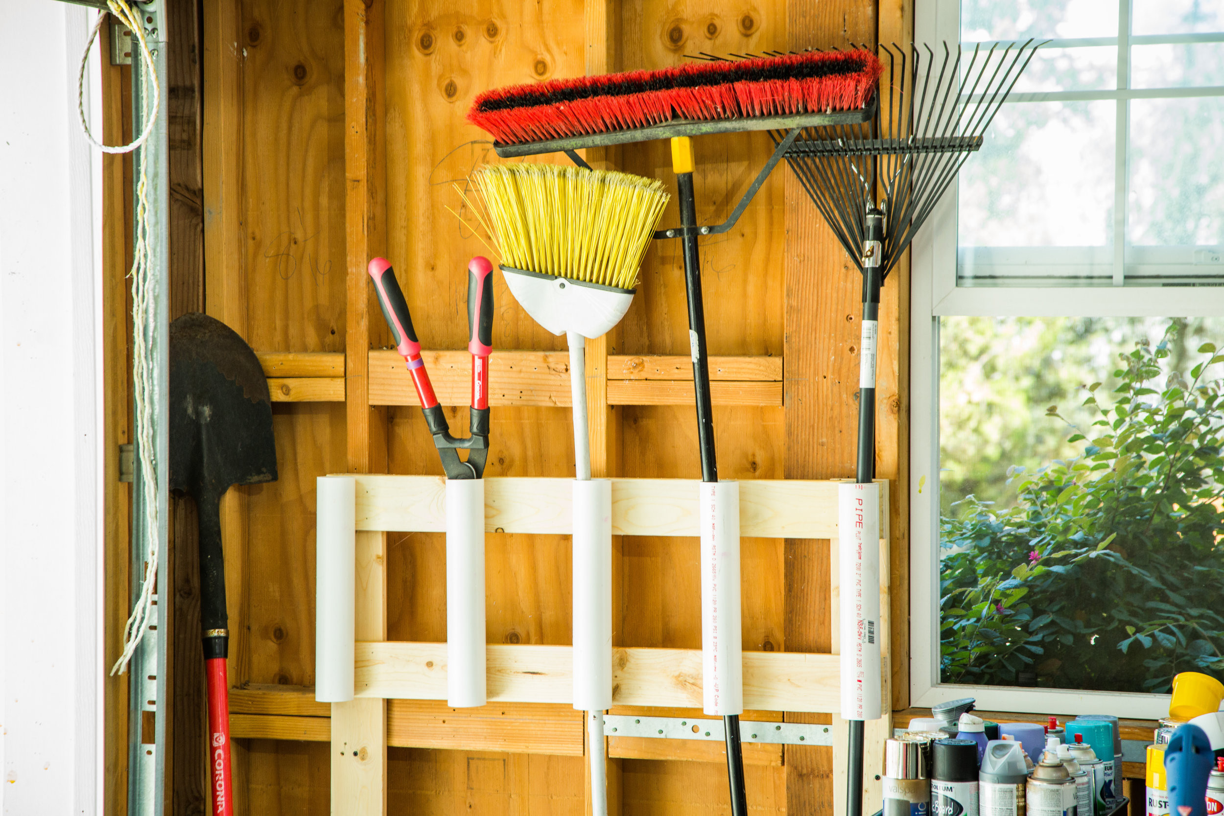 Best ideas about DIY Garden Tool Organizer . Save or Pin How To DIY Garden Tool Organizer Now.
