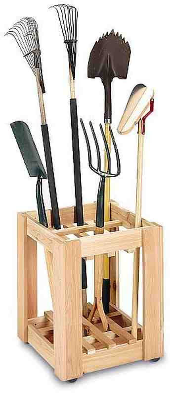 Best ideas about DIY Garden Tool Organizer . Save or Pin Roundup 10 DIY Garage Organization Ideas Curbly Now.