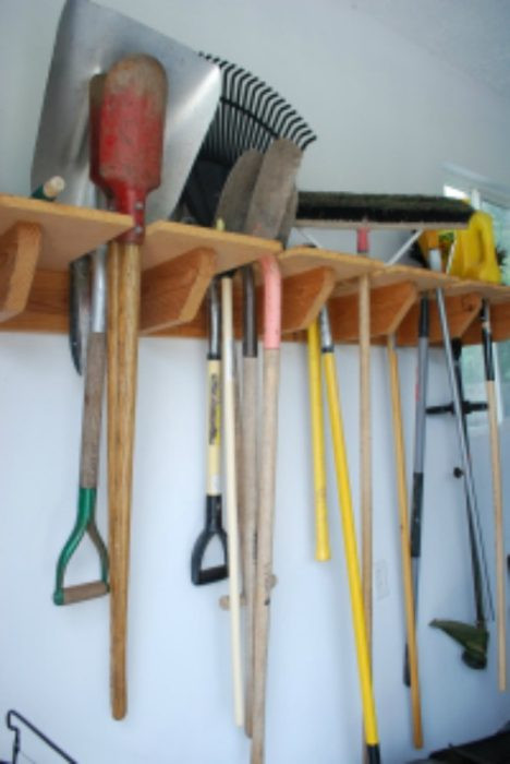 Best ideas about DIY Garden Tool Organizer . Save or Pin 40 DIY Garden and Yard Tool Storage Ideas Now.
