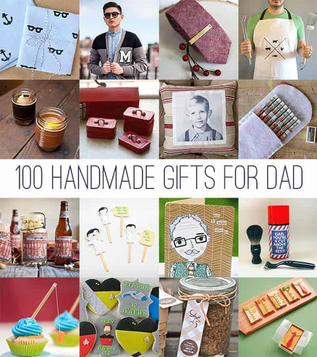 Best ideas about DIY Gift For Dad Christmas . Save or Pin DIY Father s Day 100 Handmade Gifts for Dad Now.