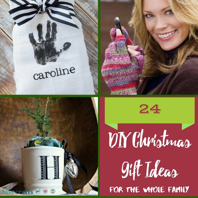 Best ideas about DIY Gift For Family . Save or Pin 24 DIY Christmas Gift Ideas for the Whole Family FaveCrafts Now.