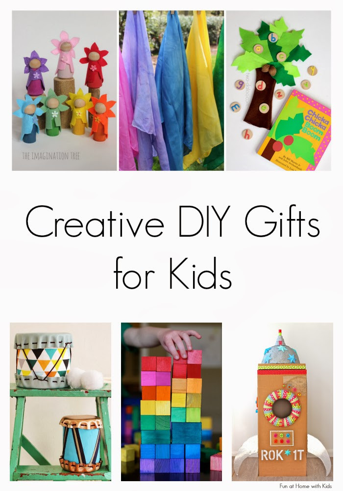 Best ideas about DIY Gift Ideas For Kids . Save or Pin Creative DIY Gifts for Kids Now.