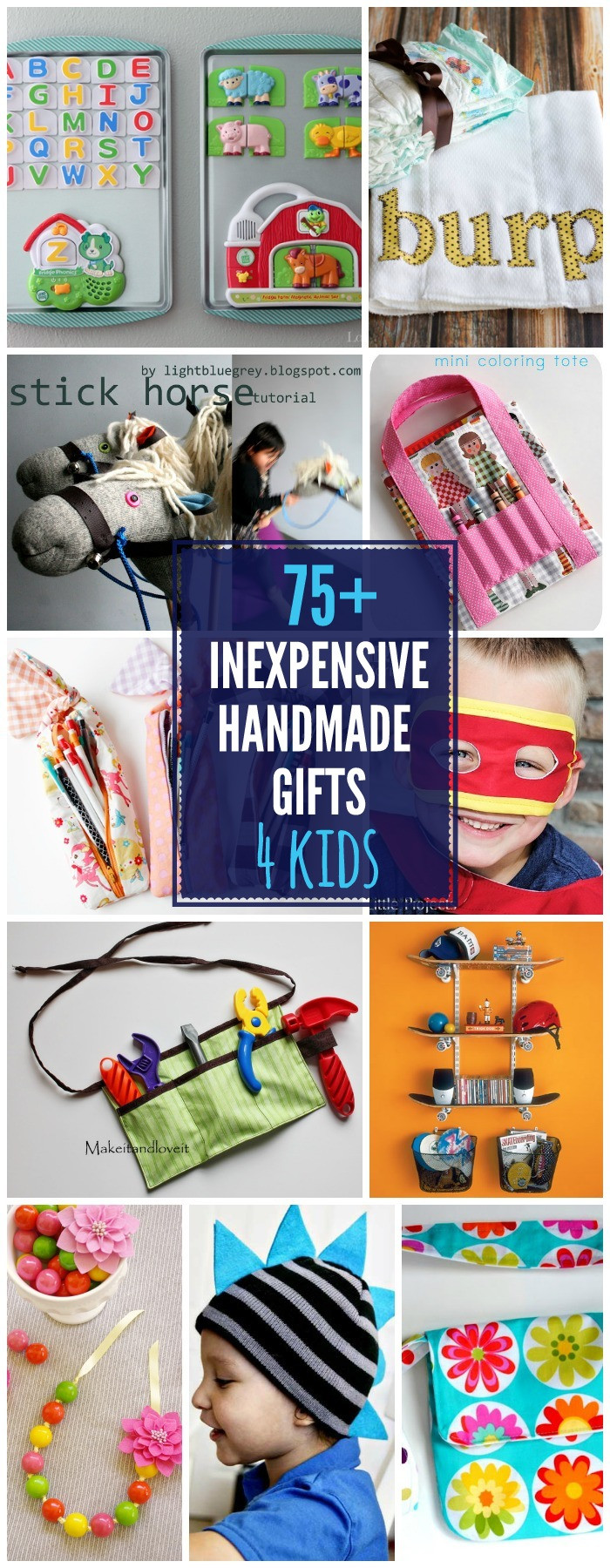 Best ideas about DIY Gift Ideas For Kids . Save or Pin Inexpensive Gift Ideas Now.