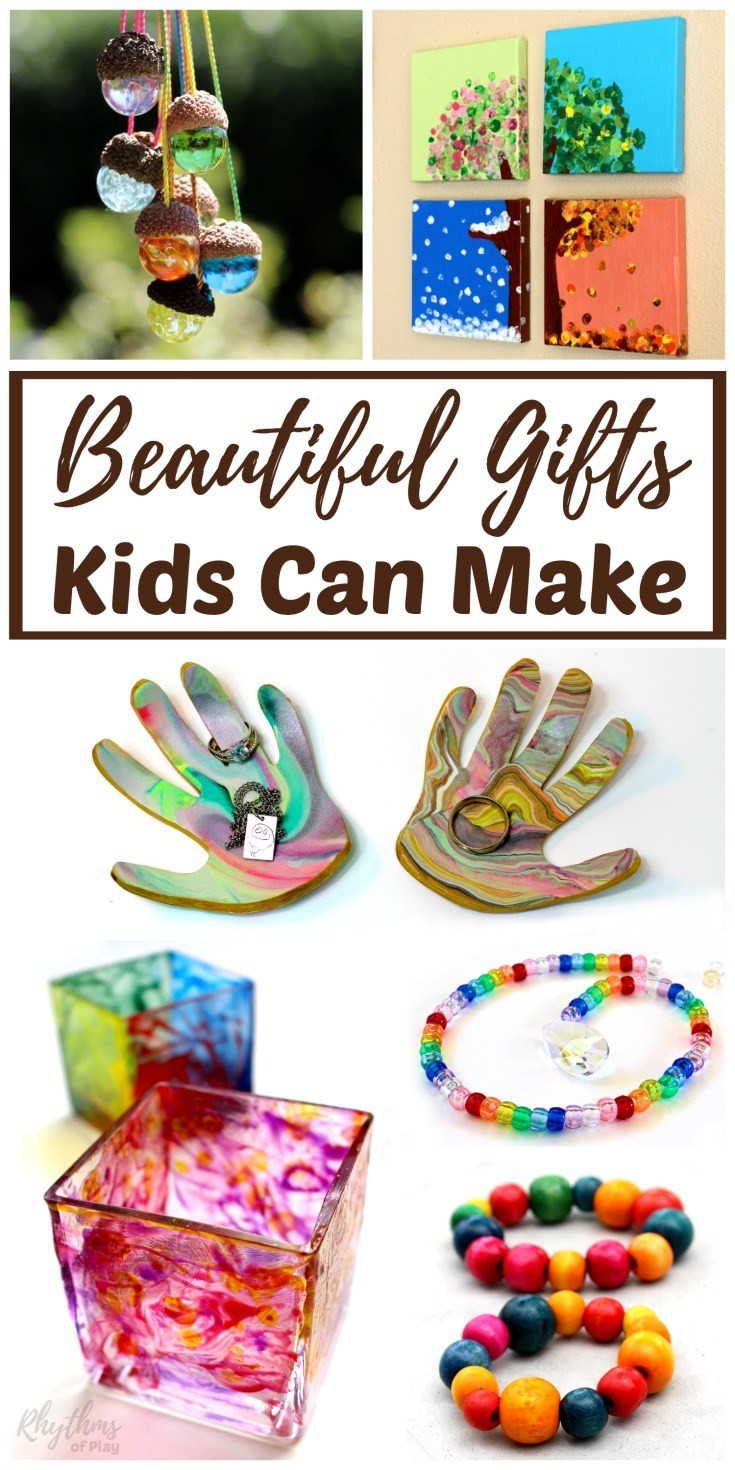 Best ideas about DIY Gift Ideas For Kids . Save or Pin Beautiful DIY Gifts Your Kids Can Make Homeschool Giveaways Now.