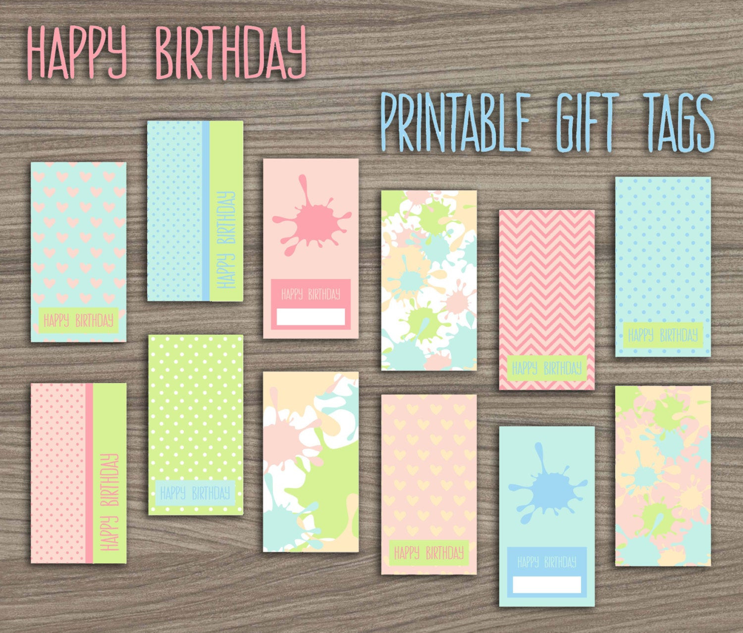 Best ideas about DIY Gift Tags Free Printable . Save or Pin Paint Birthday Party Gift Tags Paintball Party Printable Gift Now.