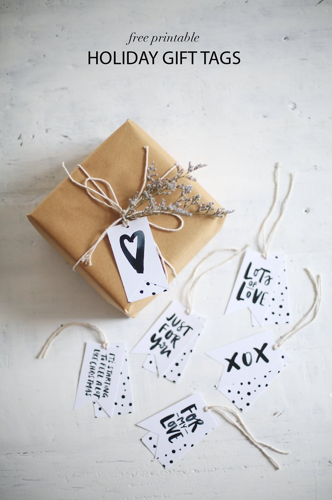 Best ideas about DIY Gift Tags Free Printable . Save or Pin DIY Printable Gift Tags they re Free Now.