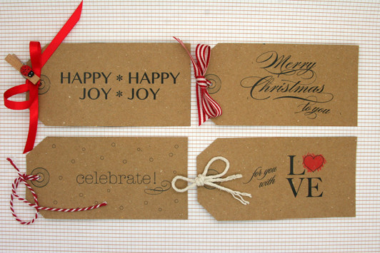 Best ideas about DIY Gift Tags Free Printable . Save or Pin DIY Free Christmas Gift Tags Little Flamingo Now.