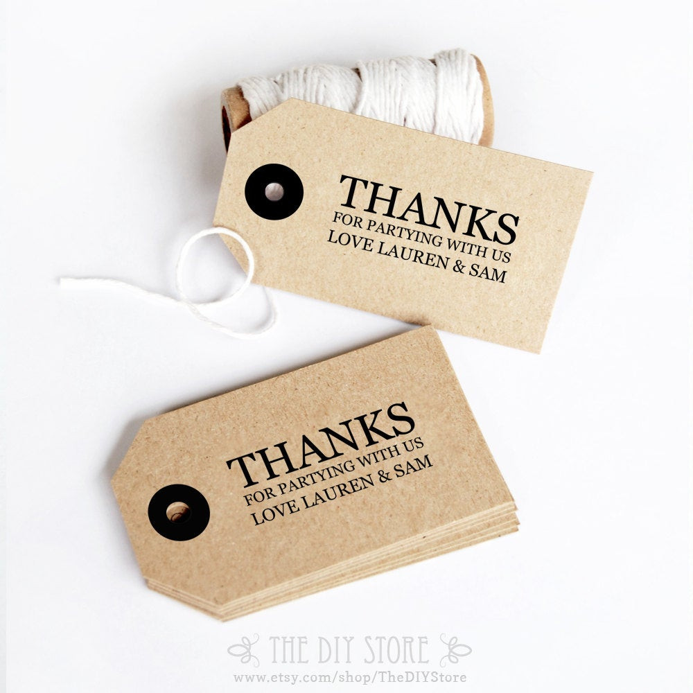 Best ideas about DIY Gift Tags Free Printable . Save or Pin Gift Tag DIY Printable Text Editable Wedding Thank You Tag Now.