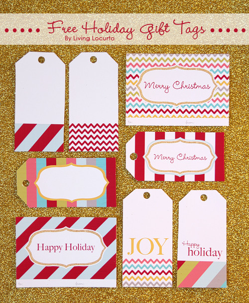Best ideas about DIY Gift Tags Free Printable . Save or Pin 25 Free Christmas Tags Now.