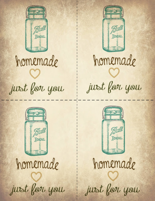Best ideas about DIY Gift Tags Free Printable . Save or Pin Misty D Designs Ball Jar Printable Gift Tags Now.