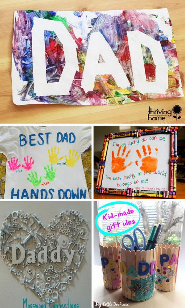 Best ideas about DIY Gifts For Dad . Save or Pin Awesome DIY Father s Day Gifts From Kids 2017 Now.