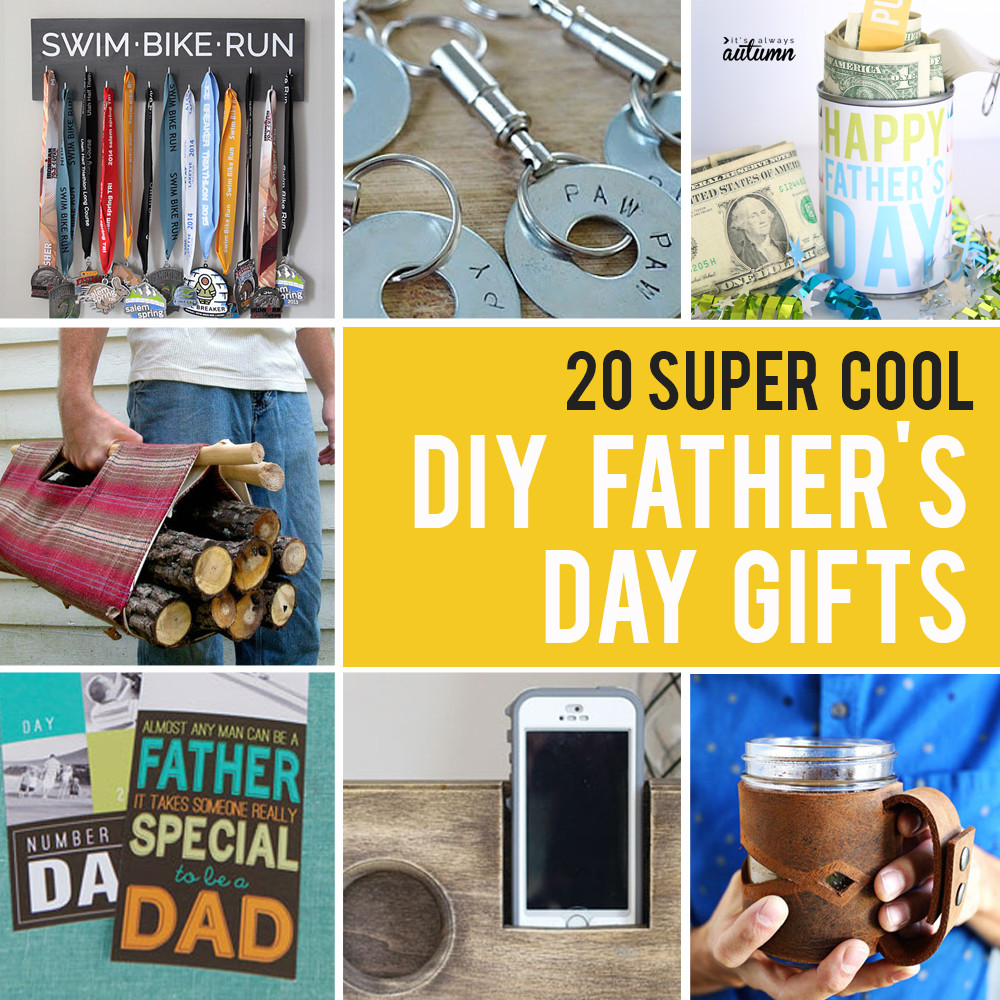 Best ideas about DIY Gifts For Dad . Save or Pin 20 super cool handmade Father s Day Gifts DIY for Dad Now.