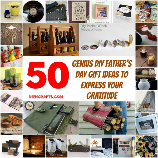 Best ideas about DIY Gifts For Dad . Save or Pin 50 Genius DIY Father s Day Gift Ideas To Express Your Now.