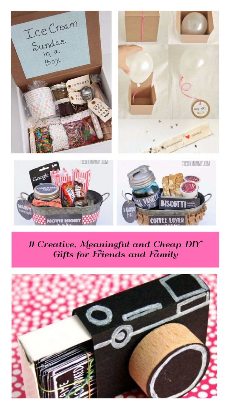 Best ideas about DIY Gifts For Family . Save or Pin Best 25 Cheap presents ideas on Pinterest Now.