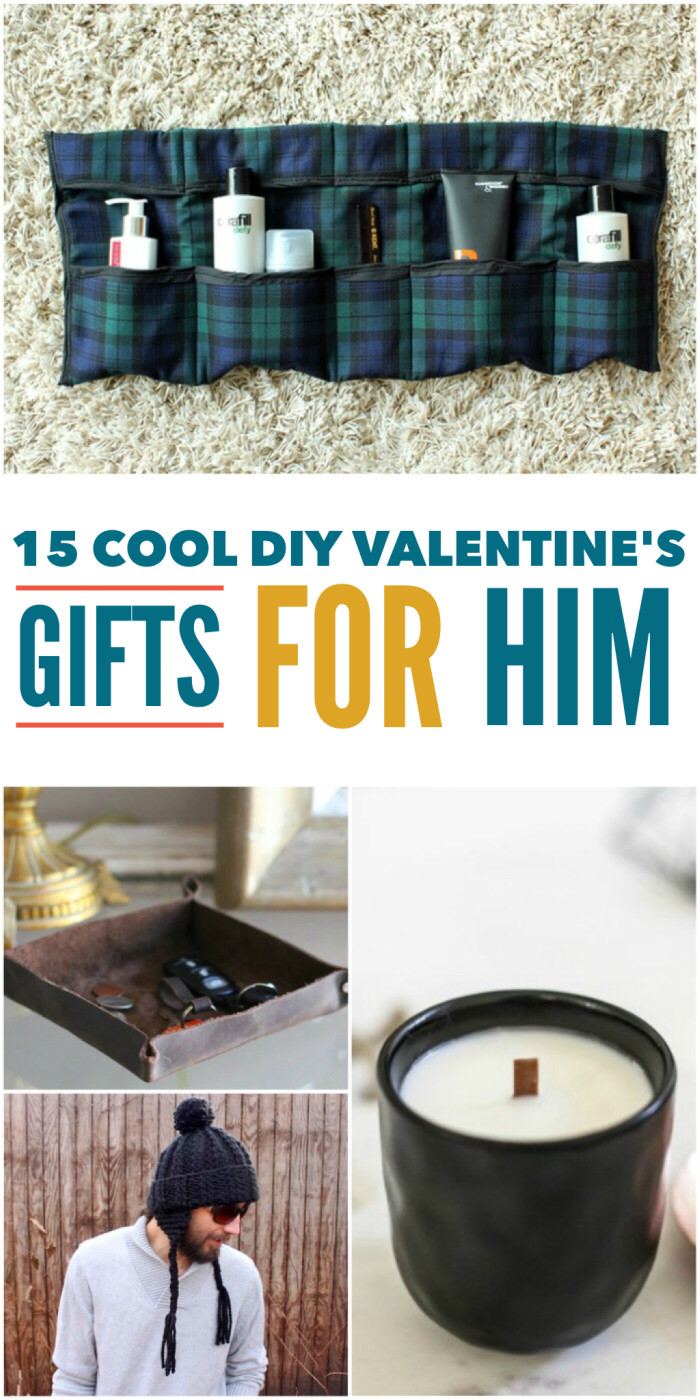 Best ideas about DIY Gifts For Him . Save or Pin 15 Cool DIY Valentine s Day Gifts for Him Now.