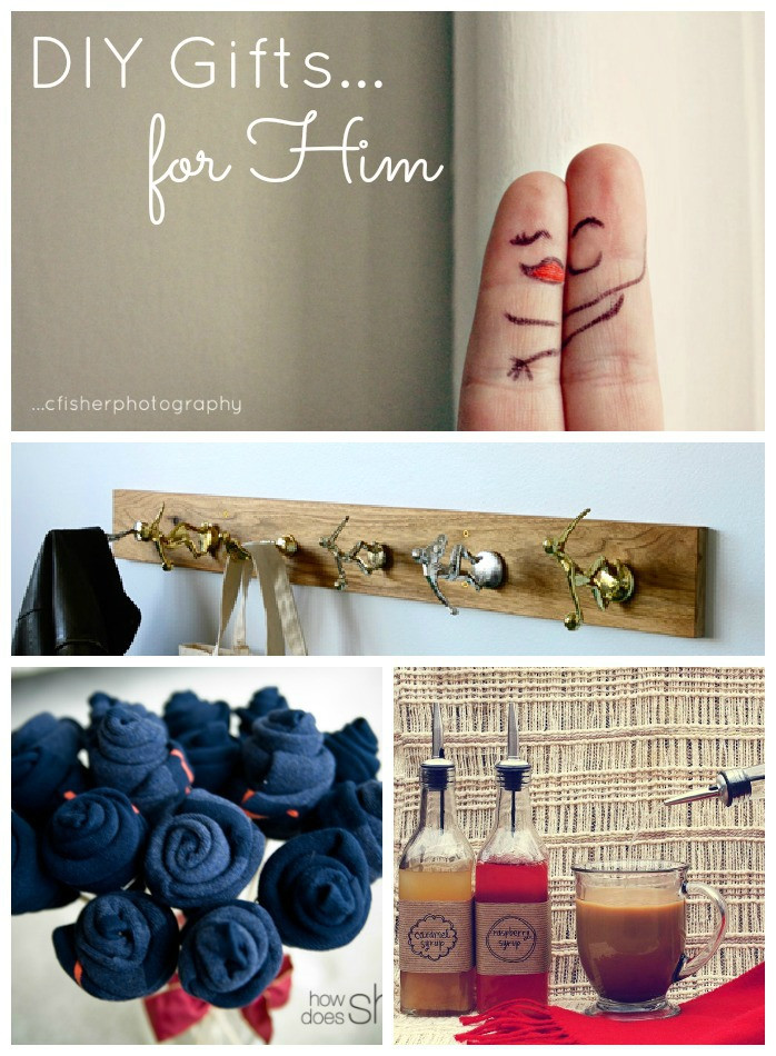 Best ideas about DIY Gifts For Him . Save or Pin DIY Valentine s Day Gifts for Him Made To Travel Now.