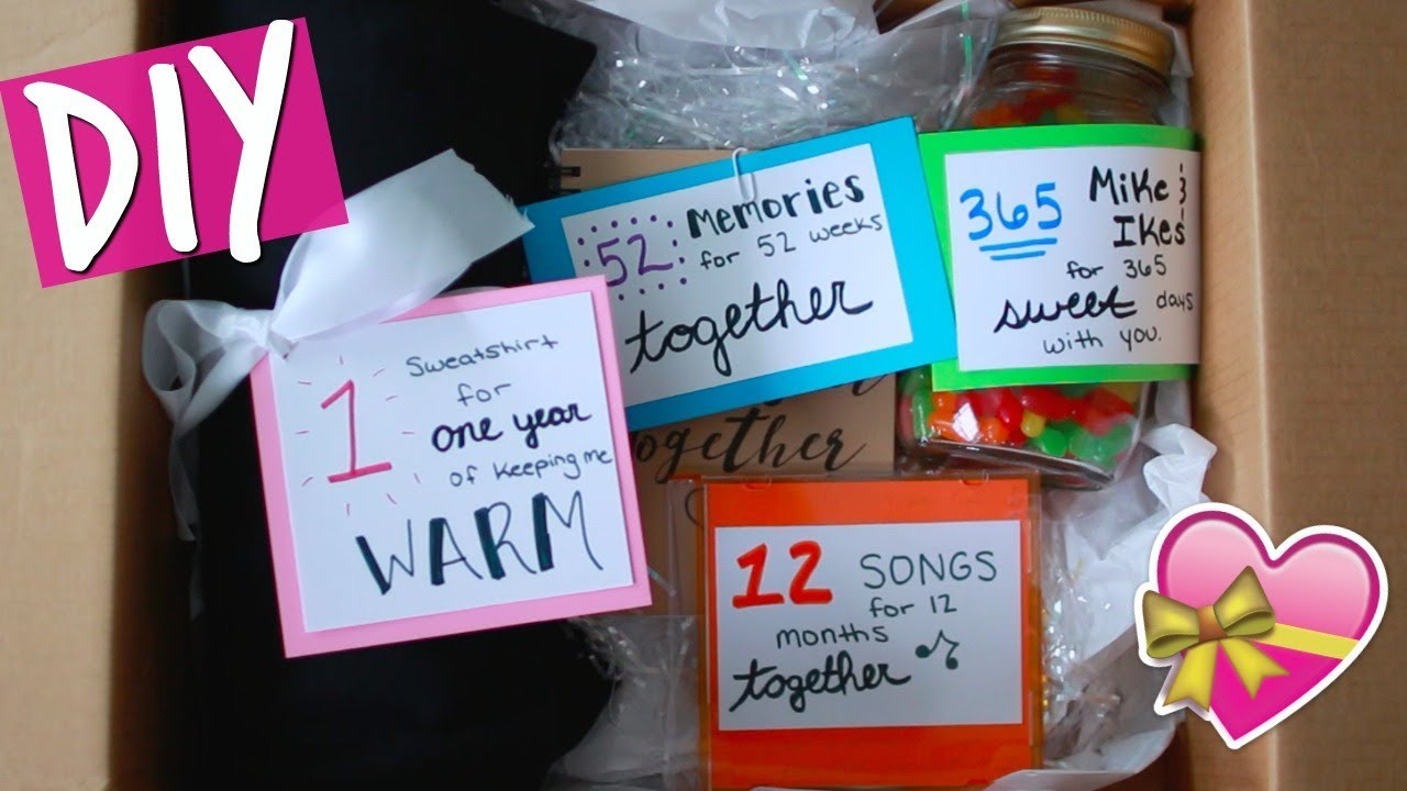 Best ideas about DIY Gifts For Him . Save or Pin DIY ANNIVERSARY GIFT FOR HIM Now.